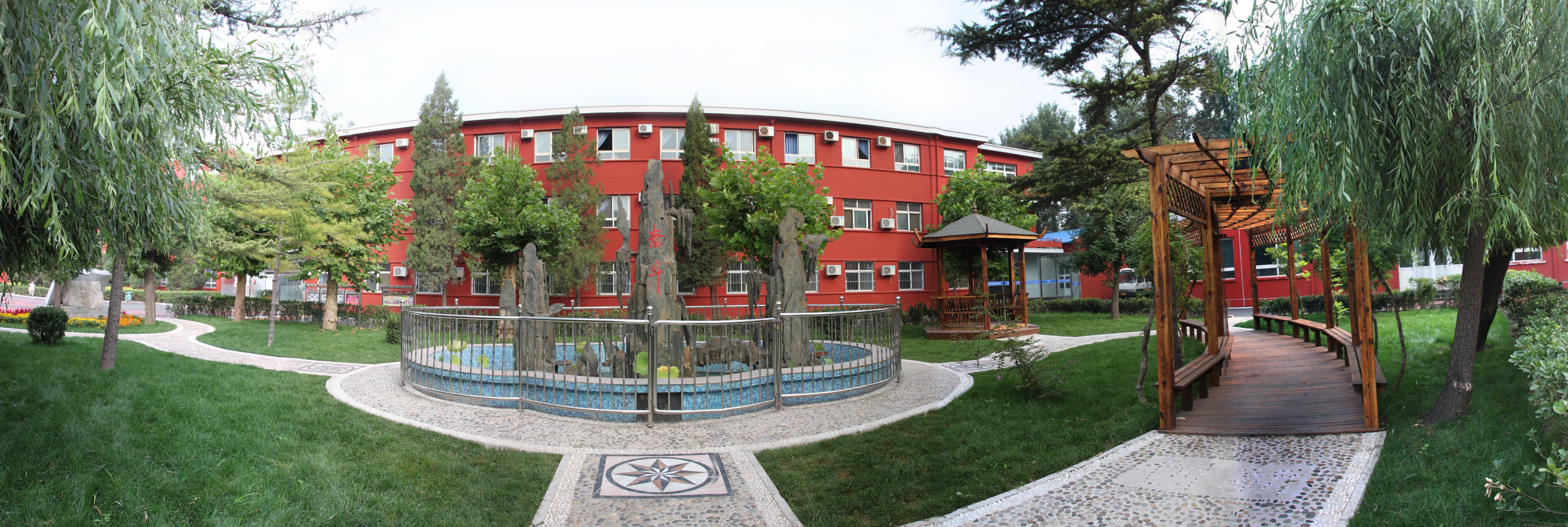 北京市中关村外国语学校2013校园环境改善